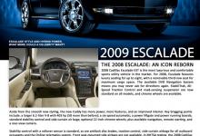 Cadillac Escalade Brochure