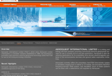 Aeroquest Site Template