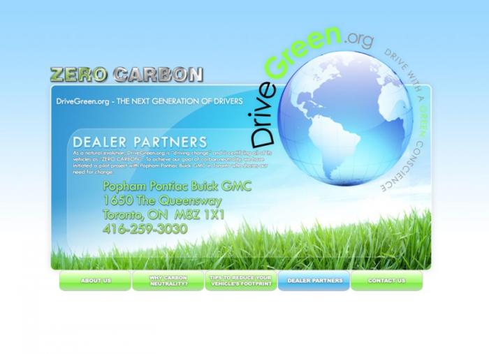 Drive Green Website