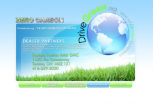 Drive Green Website