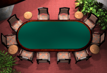 Poker Table for Online Casio Website