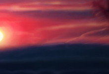 Sunrise Over Toronto Painting