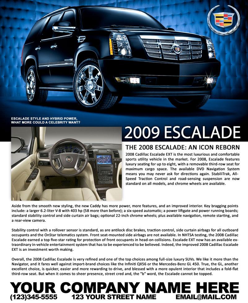 2014 Cadillac Escalade Illustration Photo Autos Weblog